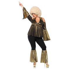 Disco Costume Adult 70s Diva Queen Halloween Fancy Dress #LegAvenueInc