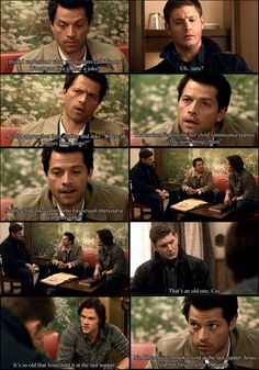 Supernatural: Castiel's Bad Joke. I made this a while back. Last one did pretty well. Subscribe if you like it. Dean's Bad Joke: www.funnyju...