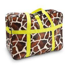 Animal Print Weekender Bag