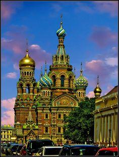St. Petersburg. Orthodox Cathedral. / Санкт-Петербург. Собор Спаса на крови.