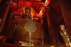 Bouddha, sur le site d'Ayutthaya
