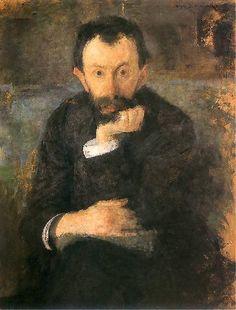 Olga Boznańska / Portret Samuela Hirszenberga / oil on canvas 77.5 x 58.5 cm / ???? / Galeria Obrazów Lwów