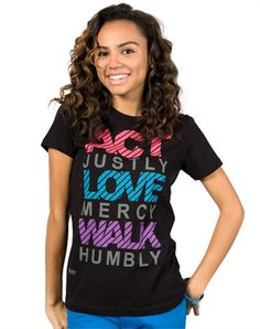 Act Love Walk - Christian Womens Shirts for $22.99 | C28.com