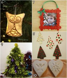 Learn with Play at Home: 26 Christmas Decorations kids can make