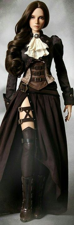 I can use this design as a starting point for my steam punk doctor costume. I can use this design as a starting point for my steam punk doctor costume. Costume Steampunk, Steampunk Dolls, Style Steampunk, Steampunk Clothing, Steampunk Fashion Women, Steampunk Outfits, Gothic Steampunk, Steampunk Female, Renaissance Clothing
