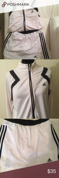 Adidas Skort set Both Sz Large. Jacket has tad more wear than the skirt both in great condition. No stains or other known damage. Adidas Other