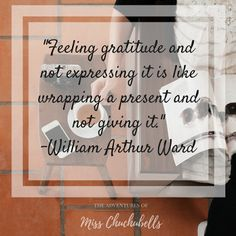30 Gratitude Quotes for Instagram posts for The Adventures of Miss Chuchubells