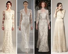 Top Wedding Trends for 2014 - Long Sleeves