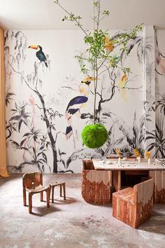Ceramics Melissa Gamwell Natalia Criado create tabletop | These Rooms Will Wow You: BOFFO's Artistic, Design-Forward Show House | POPSUGAR Home Photo 8