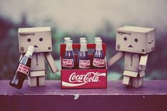 Cute Box Robots | cute coca cola drink soda box robot box robot amazon amazon box robot ...