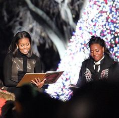#OneYearAgoToday #December1st #2016 FINAL TREE LIGHTING   #44thPresident #BarackObama #FirstLady #MichelleObama & #Family The #LAST & #FINAL The National Christmas Tree Lighting The White House December 1, 2016   #ChristmasTreeLighting #WhiteHouse #NationalChristmasTreeLighting #2016 #ObamaFamily #ObamaLegacy #ObamaHistory #Obama44 #ObamaFoundation #ObamaLibrary Obama.org