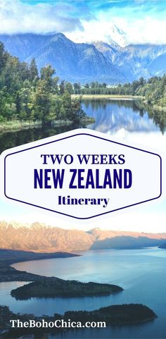 How to Spend Two Weeks in New Zealand: A complete itinerary for the best spots in the North Island and South Island of New Zealand, from my New Zealand honeymoon.