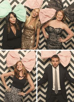 diy-giant-bows-party-smilebooth