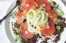 Thumbnail image for Superfood Recipes: Grapefruit, Fennel, & Quinoa Salad