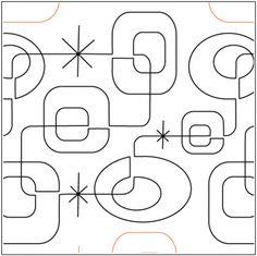 Modern Squares - Pantograph