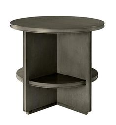 Judd Side Table from the Mariette Himes Gomez collection by Hickory Chair Furniture Co.