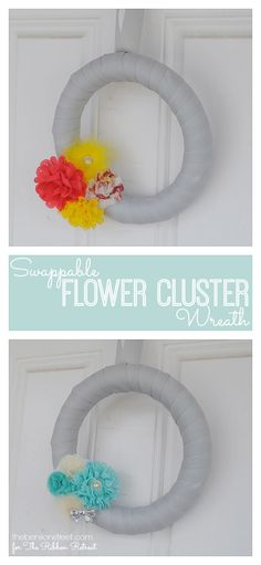 DIY Swappable Flower