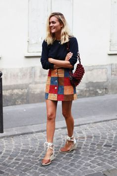 The Suede Skirt Is About to Become Your Wardrobe BFF: Here are 17 Ways to Wear It