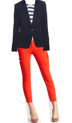 Coral for Summer, created by em-eck on Polyvore