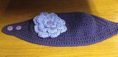 Headband/Earwarmer with flower