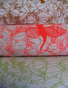 organic fabric by Umbrella Prints