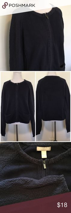 🆕Banana Republic Navy Boucle Sweater Jacket Banana Republic navy Boucle full zip sweater jacket. Crew neck. Warm and cozy. Has been well loved, so it's a tad faded. Otherwise in great preloved condition. Size L, but fits more like a M, so I'm listing as such. 100% cotton. ❌NO TRADES ❌NO LOWBALLING❌ Banana Republic Sweaters Crew & Scoop Necks