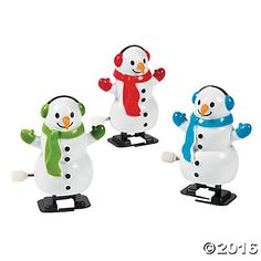 Snowman Wind-Up Characters (24)