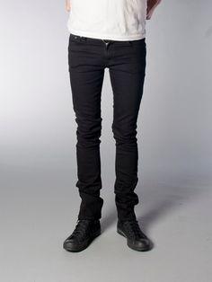 Tube Tom Organic Black Black - Nudie Jeans