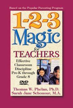 Fun With Firsties, 1 2 3 magic, behaviour management
