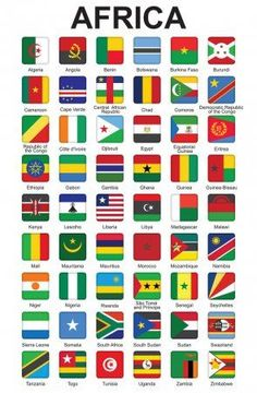 Paises Da Africa, Africa Flag, World Country Flags, Country Maps, Flag Country, Gernal Knowledge, General Knowledge Facts, Countries And Flags, Countries Of The World