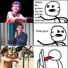 Tom Holland meme