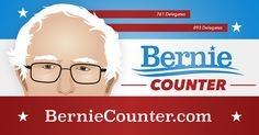 This is a cool little map/tool for calculating win percentages for state primaries--Despite what you've been hearing, Bernie Sanders can still win the democratic presidential nomination. Find out how using The Bernie Counter.