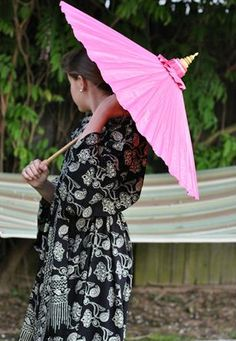 Perfect for a rainy day or when you just want to block out the sun, this beautiful umbrella is handmade in Thailand. Recommended by dermatologists everywhere.