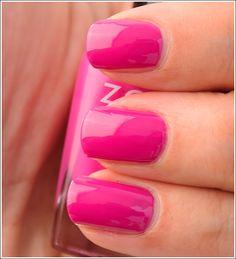 Zoya Beach Collection - Reagan {(deep cerise pink cream}
