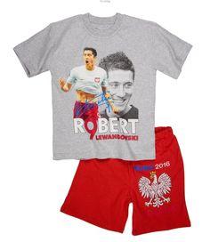 Piżama Lewandowski EURO s-chłopiec Euro, Lewandowski, Onesies, Baby, Clothes, Fashion, Outfits, Moda, Clothing