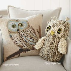 This huggable wool owl is hand-knit by women in rural Kenya who spin the wool and dye it with plants from their village gardens. Available @VivaTerra