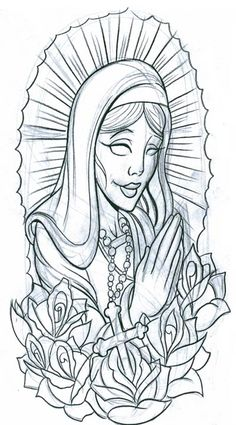 Free Tattoo Designs To Print | ... , symbols, praying woman2 tattoo free download - tattoo design 1