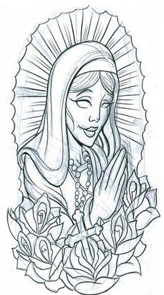 Free Tattoo Designs To Print   ... , symbols, praying woman2 tattoo free download - tattoo design 1