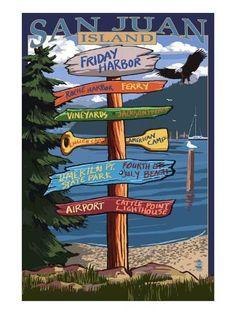 Kodiak Island, Alaska - Destinations Sign - Lantern Press Artwork (Art Print Available) Alaska Destinations, Vancouver, Sitka Alaska, Seward Alaska, Ketchikan Alaska, Kodiak Island, Camano Island, Alaska Cruise, Alaska Trip