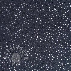 490**Softshell Shimmering stars navy