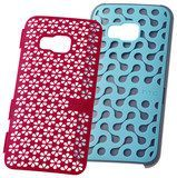 HTC - Design Stand Case for HTC One (M9) Cell Phones - Turquoise/Candy Pink
