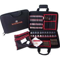 Gun Cleaning Professional System Portable 68 Piece Gift Set Suitcase Clean Tools #GunCleaningProfessionalSystems