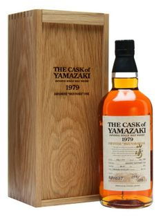 A 1979 vintage Japanese single malt whisky from Suntory's Yamazaki distillery.  Launched in travel retail in 2008, this has been bottled at full strength at 29 years old after full-term maturation ...