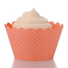 peach and coral decor | - CORAL, baby cupcake wrappers, wedding cupcake sleeves, decorative ...