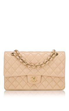 3461b6289efd93 Chanel Beige Quilted Lambskin Large Classic Double Flap Bag by Madison  Avenue Couture for Preorder on