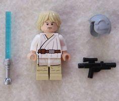 New Lego Star Wars Luke Skywalker Minifig from 7965 Figure ...