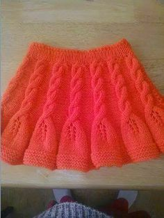 Likes, 45 Comments - Muhacir. Crochet Dress Outfits, Girls Knitted Dress, Knit Baby Dress, Crochet Skirts, Knitted Baby Clothes, Dress With Cardigan, Knit Skirt, Kids Knitting Patterns, Knitting For Kids