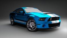 Ford Mustang Shelby GT 500 2011