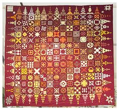 French blog but the Dear Jane quilts found here are outstanding.
