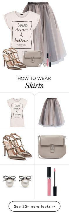 """""""The skirt"""" by yanina-kolyvanova on Polyvore"""